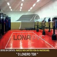 Lona Vermelha PVC 15x1,57 m Premium Vinil para Toldo Tatame Ringue MMA Cobertura Academia Tenda Piso EVA Palco Eventos Festa
