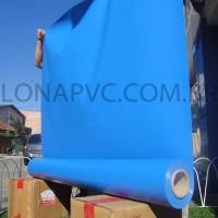 Lona Azul Claro PVC 30x1,57 m Premium Vinil para Toldo Tatame Ringue MMA Cobertura Academia Tenda Piso EVA Palco Eventos Festa