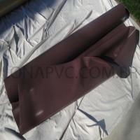Lona Marrom PVC 30x1,57 m Premium Vinil para Toldo Tatame Ringue MMA Cobertura Academia Tenda Piso EVA Palco Eventos Festa