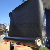 Lona Preta PVC 15x1,57 m Premium Vinil para Toldo Tatame Ringue MMA Cobertura Academia Tenda Piso EVA Palco Eventos Festa