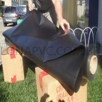Lona Preta PVC 30x1,57 m Premium Vinil para Toldo Tatame Ringue MMA Cobertura Academia Tenda Piso EVA Palco Eventos Festa