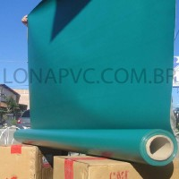 Lona Verde Escuro PVC 30x1,57 m Premium Vinil para Toldo Tatame Ringue MMA Cobertura Academia Tenda Piso EVA Palco Eventos Festa