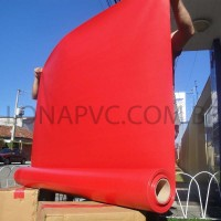 Lona Vermelha PVC 30x1,57 m Premium Vinil para Toldo Tatame Ringue MMA Cobertura Academia Tenda Piso EVA Palco Eventos Festa